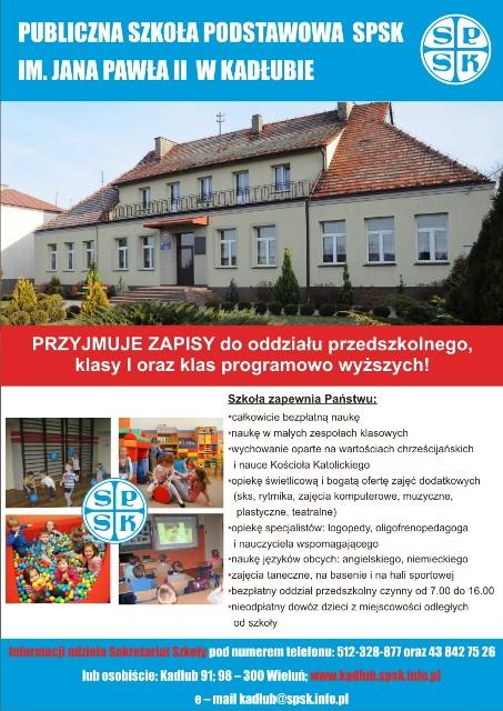 Plakat SPSK Kadłub 2016