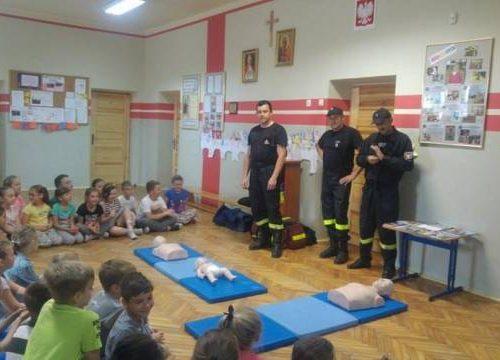 Strażacy i pierwsza pomoc